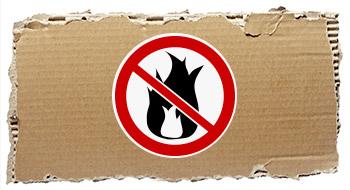 Flammschutzmittel für Papier und Pappe