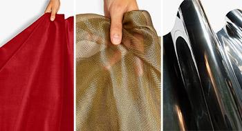 Textil, fólie & efektní materiály