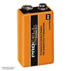 DURACELL INDUSTRIAL BATTERY 9V  MN1604
