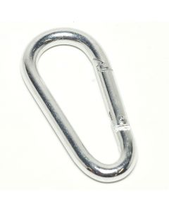 CARABINER HOOK WITH SNAPPING CLOSURE