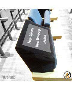 HUSSE CORONA zur Sperrung von Sitzplätzen Digitaldruck