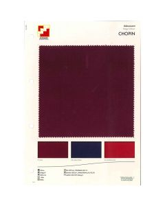 SAMPLE CARD STAGE VELOUR CHOPIN