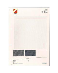 SAMPLE CARD FINE GAUZE CINEMA