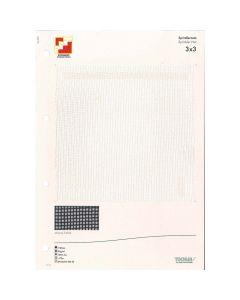 SAMPLE CARD SPRINKLER NET 3 X 3
