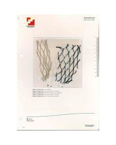 SAMPLE CARD  DEKORATIONSNETZ 20X20