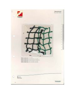 SAMPLE CARD  DEKORATIONSNETZ 25X25