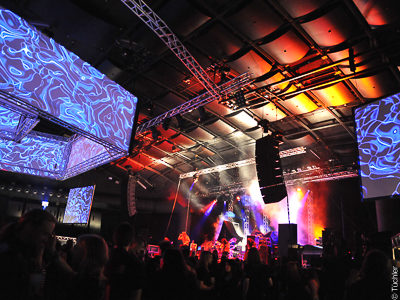 Stage technology and event technology, Gasometer Vienna