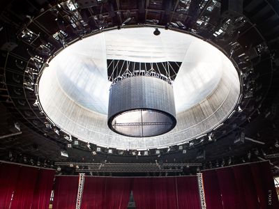 Arena Katowice: Chain hoist system for LED wall in multi-purpose hall