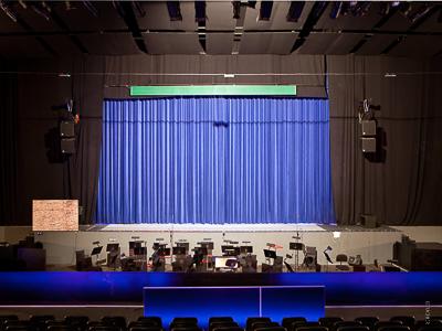 Opera Szczecin: Fly bars - theatre winches LIFT-IT acc. to BGV-C1