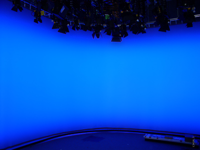 TV cyclorama for live studios of NDR