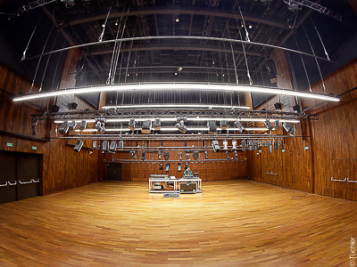 Theatre technology complete equipment, Zamek Cultural Centre