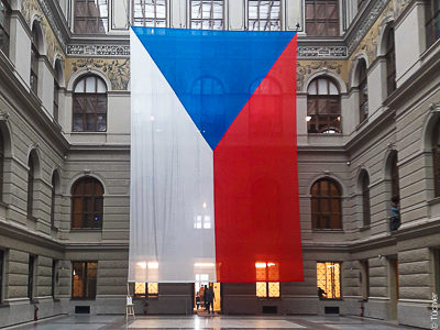 Kettenzüge gem. BGV-C1 als Punktzüge im Nationalmuseum Prag
