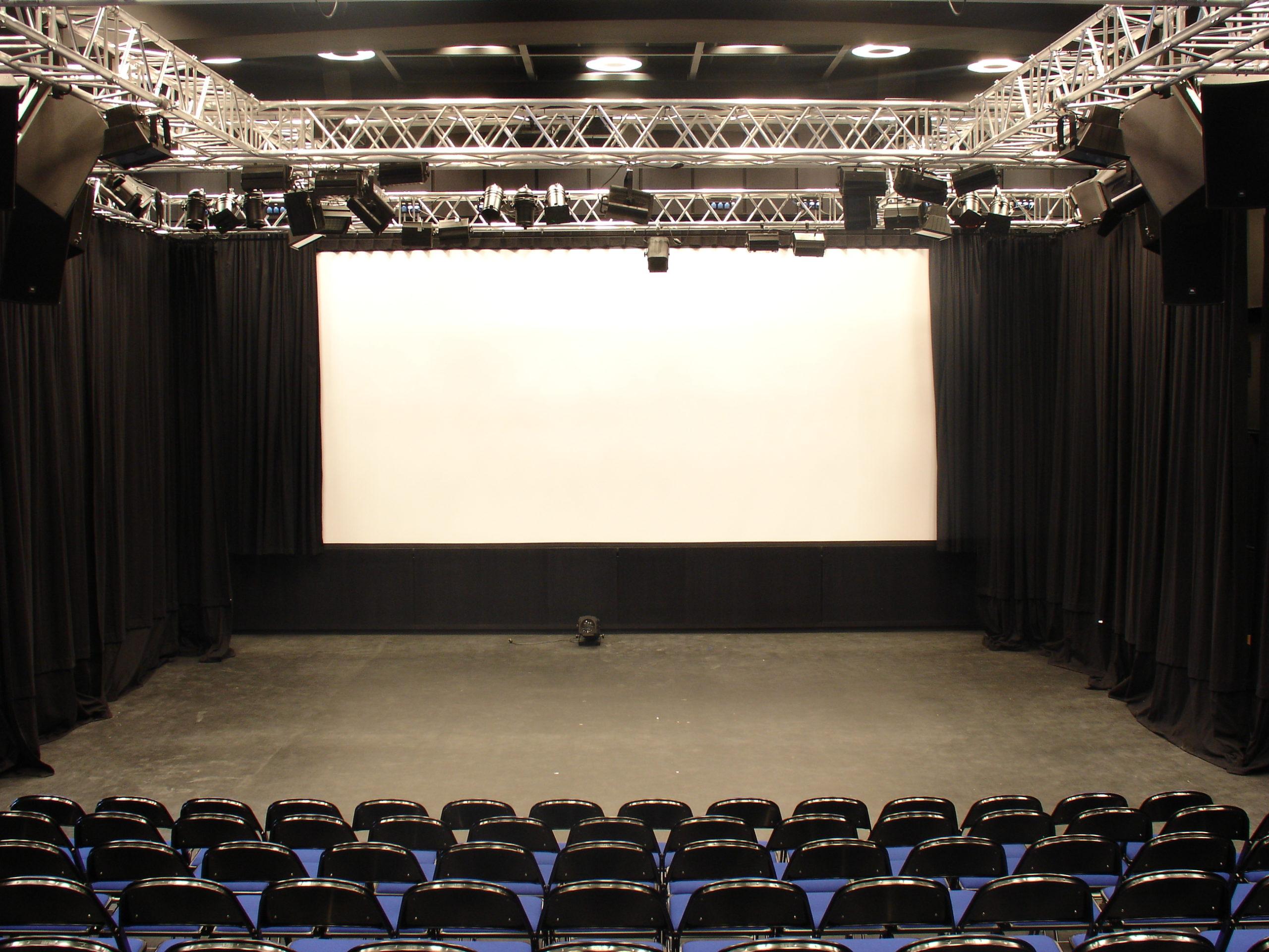 DIOD Jihlava – přestavěný sportovní sál na divadlo