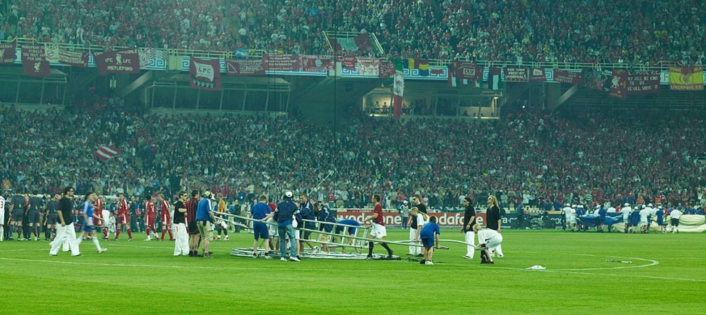 Champions League Finale 2007 in Athen