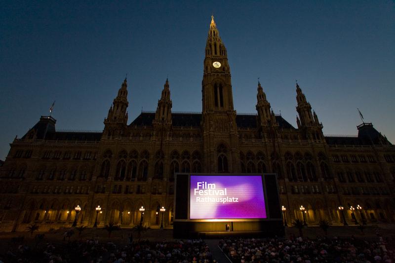 Filmový festival, Rathausplatz Wien