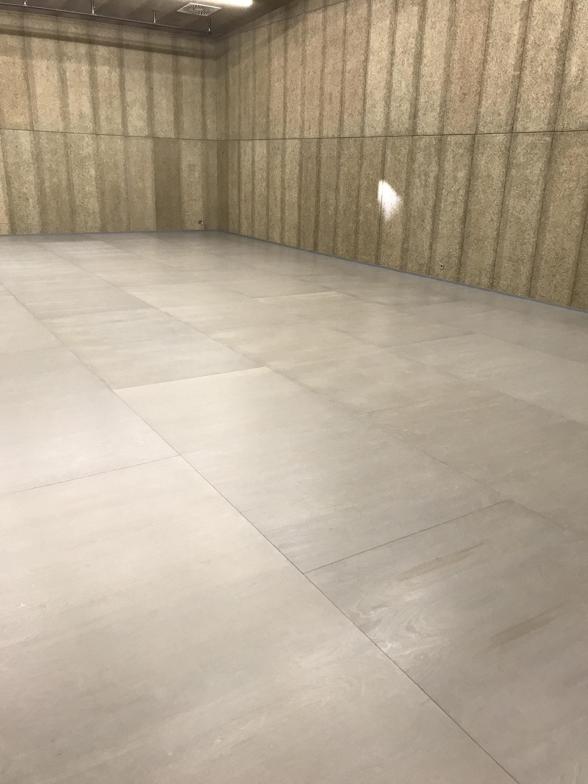 Galerie DOX v Praze: pro taneční zkušebnu byla použita pružná podlaha MANERO CLASSIC