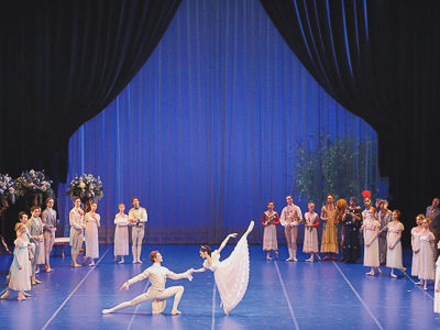 "Stage velour and Voile for the ""Summer Night's Dream"" of the Bavarian State Ballet Munich"