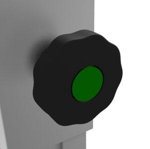Bühnensystem T-REX Steckbein Steckfuß Steckfuss teleskopbierbar ausziehbar Telebein quadratisch Detail V6