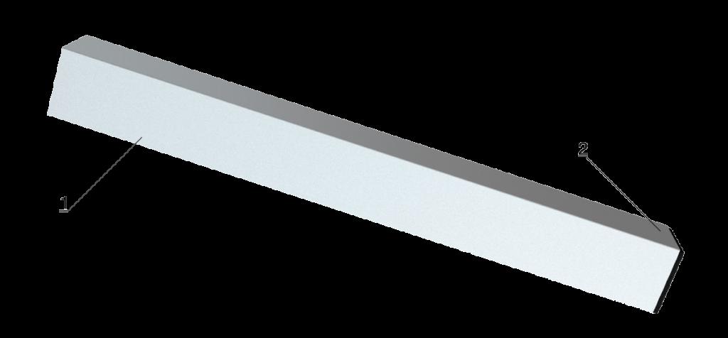 Bühnensystem T-REX Steckbein Steckfuß quadratisch Detail