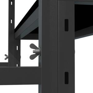 Bühnensystem T-REX Anstelltreppe Bühnentreppe Einzelelement Detail Verbindung