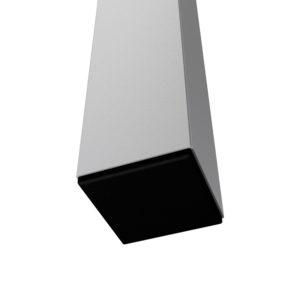 Bühnensystem T-REX Steckbein Steckfuß quadratisch Detail V2