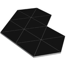 Bühnensystem T-REX Bühnenpodest Dreieck dreieckig