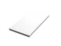 Bühnensystem T-REX Bühnenpodest mit PLEXI-Oberfläche weiß weiss glänzend