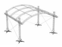 Bühnensystem T-REX roofs TXAR