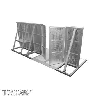 Bühnensystem T-REX Crowd barriers halbe Tür LINKS & RECHTS