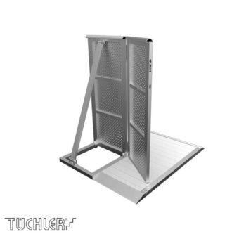 Bühnensystem T-REX Crowd barriers halbe Tür rechts