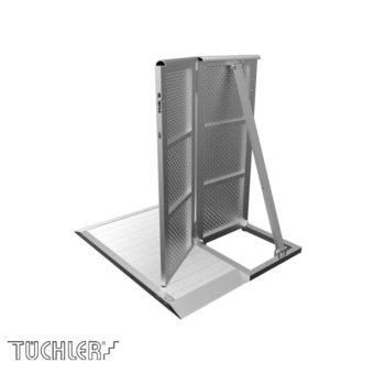 Bühnensystem T-REX Crowd barriers halbe Tür LINKS