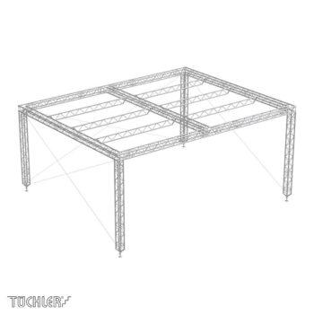 Bühnensystem T-REX roofs TXDRL