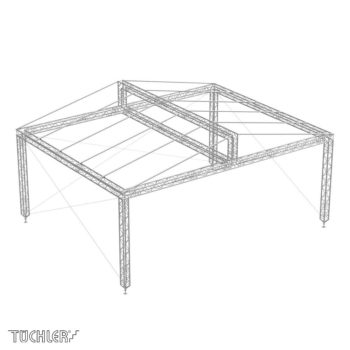 Bühnensystem T-REX roofs TXGRL
