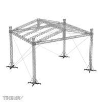 Bühnensystem T-REX roofs TXGR